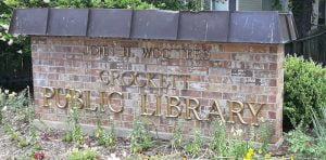Read more about the article Welcome to Crockett Public Library